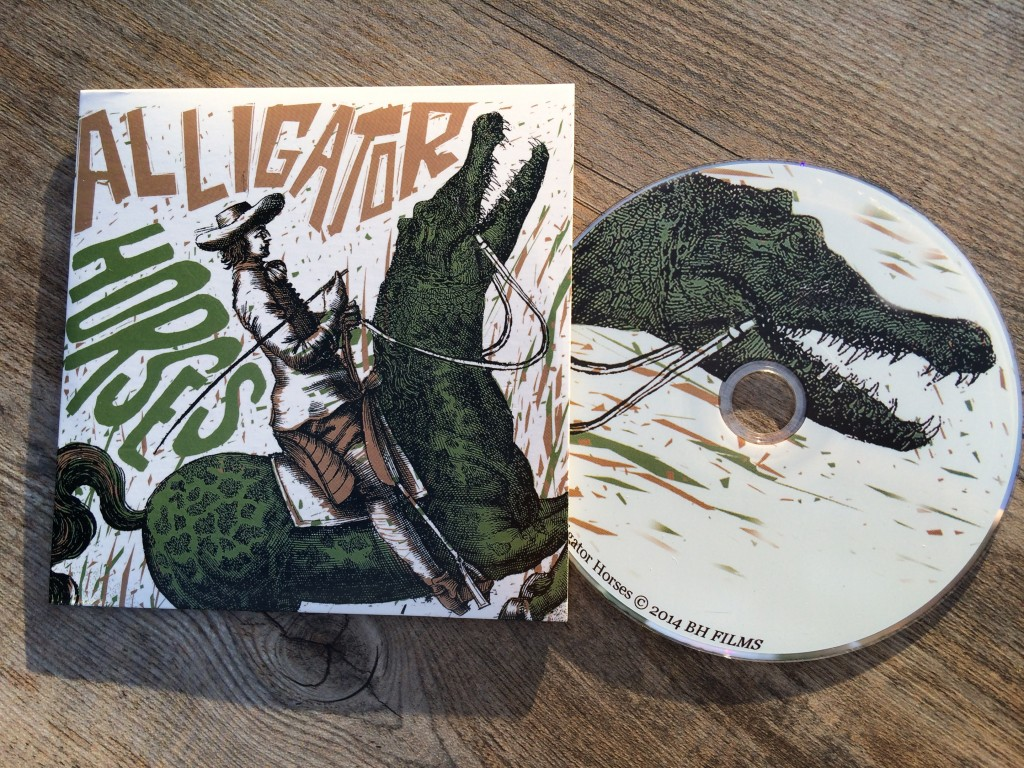 Alligator-Horses DVD cover design by Carlos Hernandez