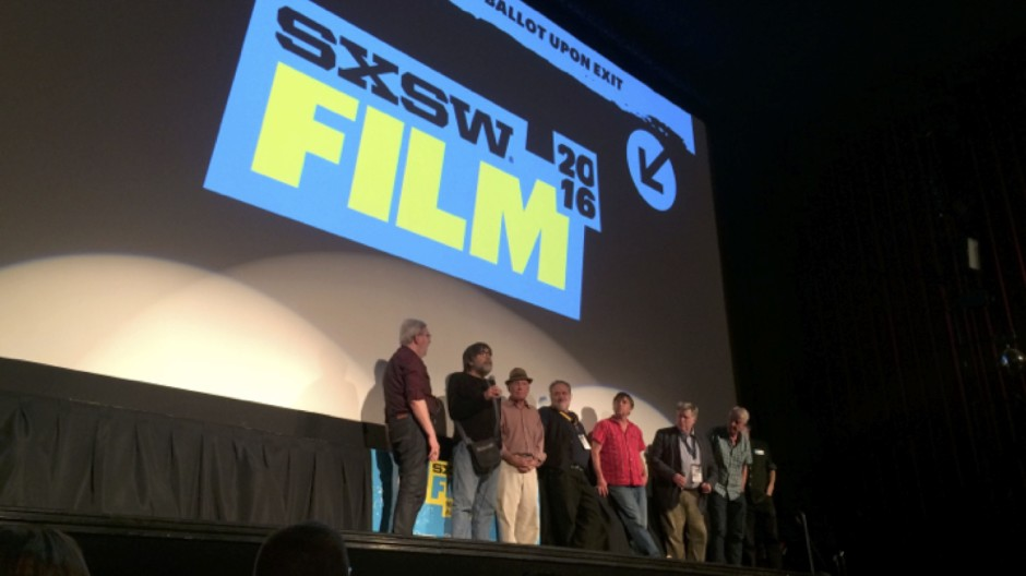 Speaking at SXSW 2016 screening of Eagle Pennell's Last Night At The Alamo